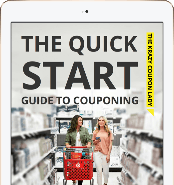 Get The Free Quick Start E Book Guide To Couponing The Krazy Coupon Lady