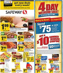 Safeway Coupon Deals Week Of 8 3 The Krazy Coupon Lady