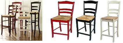 Bar Stools And High Table, Knockout Knockoffs Bar Stools From Pottery Barn Ballard Designs And Crate Barrel The Krazy Coupon Lady