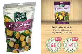 Fresh Gourmet Ibotta Offer Croutons Only 0 73 At Walmart The Krazy Coupon Lady