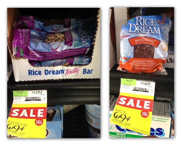Free Rice Dream Frozen Dessert at Whole Foods! - The Krazy ...