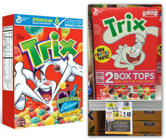 Trix Cereal As Low As 0 24 At Shoprite The Krazy Coupon Lady