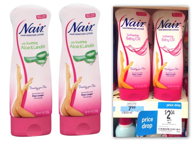 Nair Hair Remover Lotion Only 0 54 At Kmart The Krazy Coupon Lady