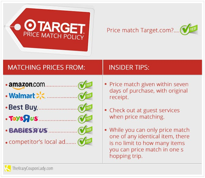 Holiday Price Matching 101 Target The Krazy Coupon Lady