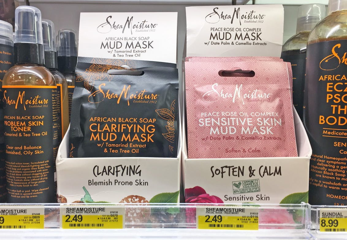 sheamoisture mud mask hair treatment only 0 49 at target the krazy coupon lady sheamoisture mud mask hair treatment
