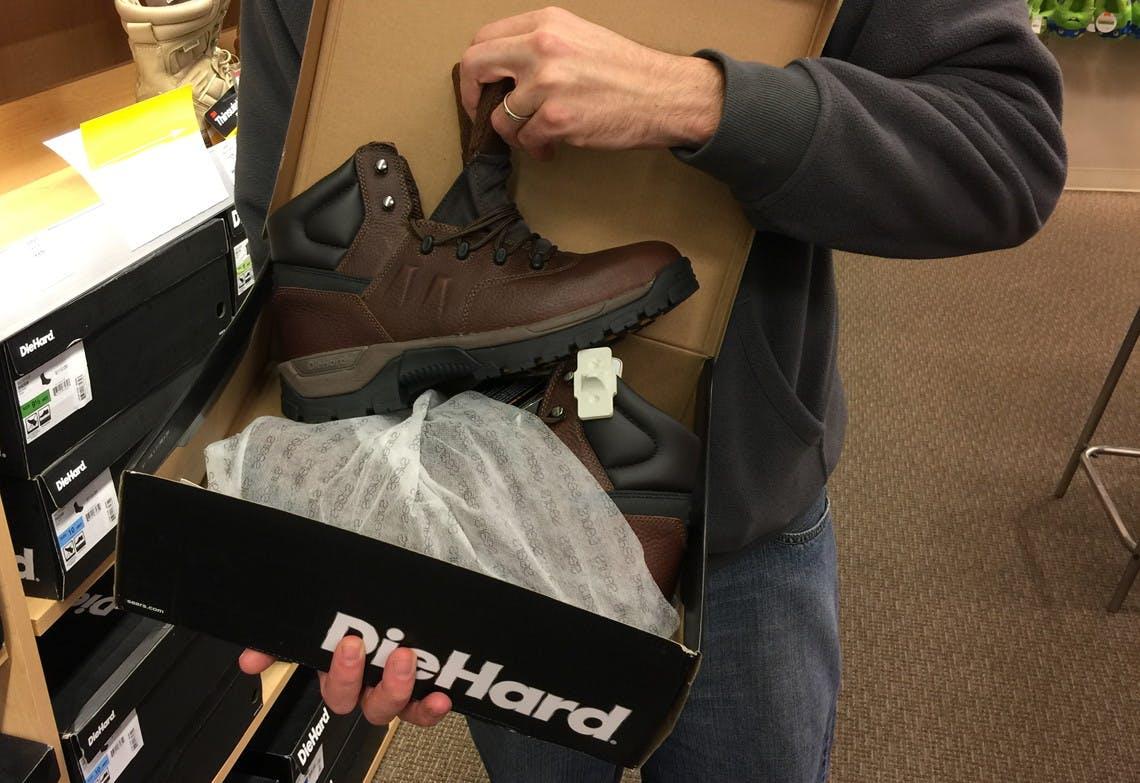 DieHard Men's Steel Toe Work Boots