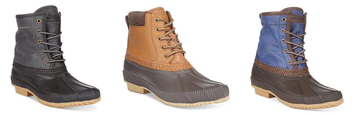 Tommy Hilfiger Men's Duck Boots