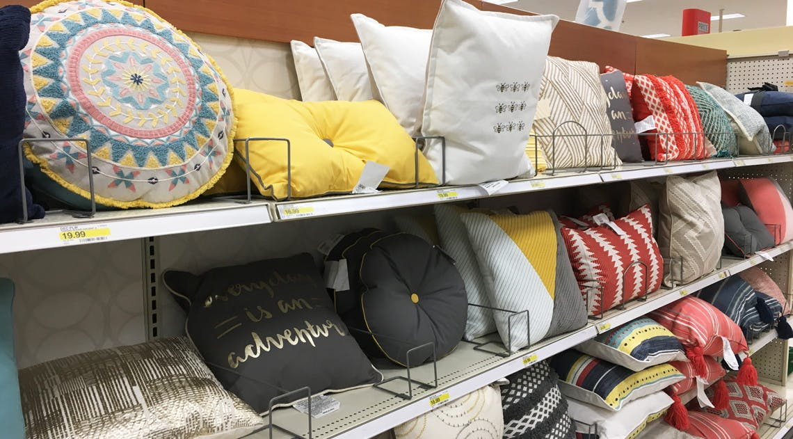 Today Only Throw Pillows As Low As 7 65 At Target The Krazy Coupon Lady