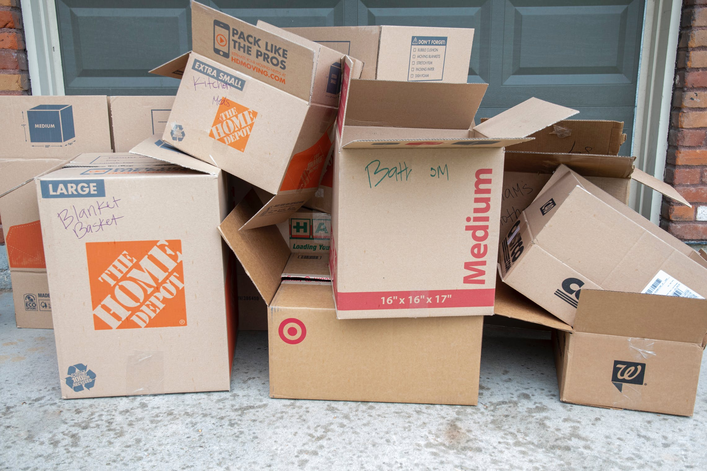 27 Places To Get Free Moving Boxes The Krazy Coupon Lady