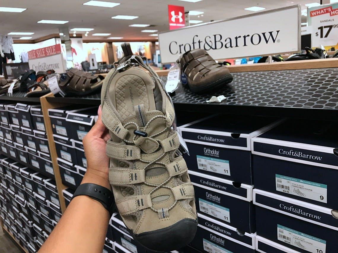 Men's Croft \u0026 Barrow Sandals, as Low as