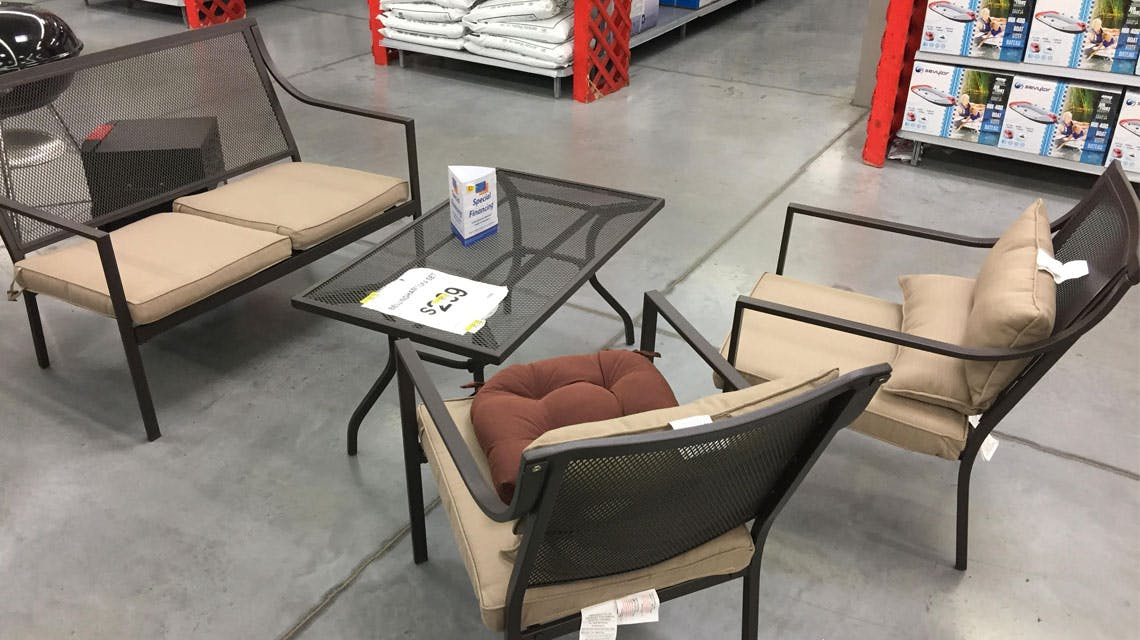 Outdoor Living Clearance At Walmart 15 Fire Pits 19 Dining Tables More The Krazy Coupon Lady