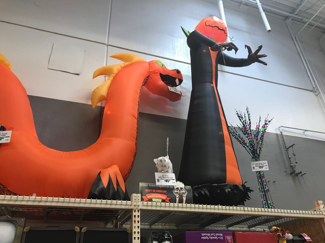 Halloween Clearance 2020 Clearance Halloween Inflatables, as Low as $10.00 at Lowe's!   The