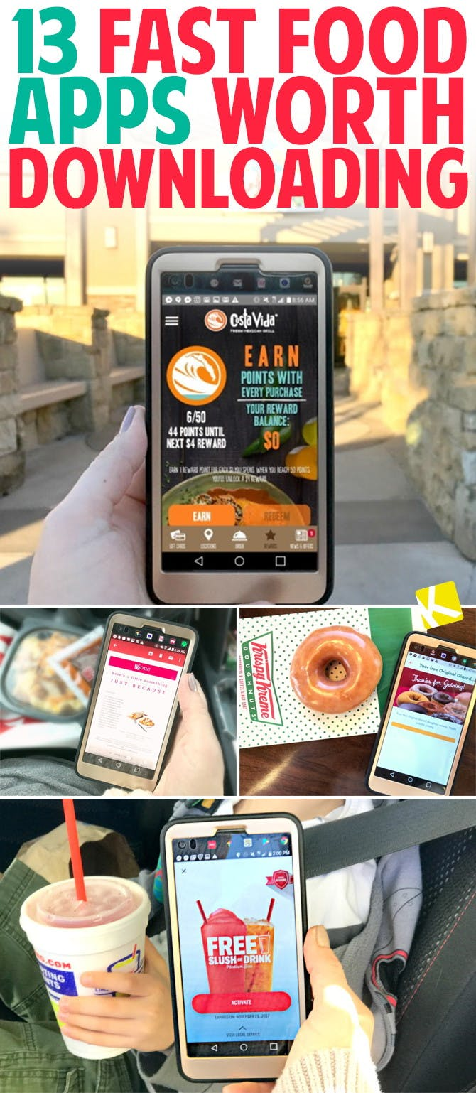 apps that give free food for signing up