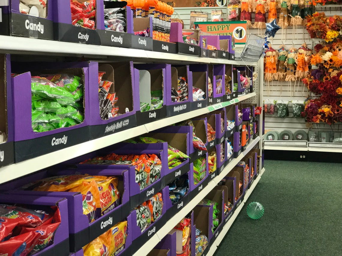 Halloween Decorations Candy and Costumes $1 00 at Dollar