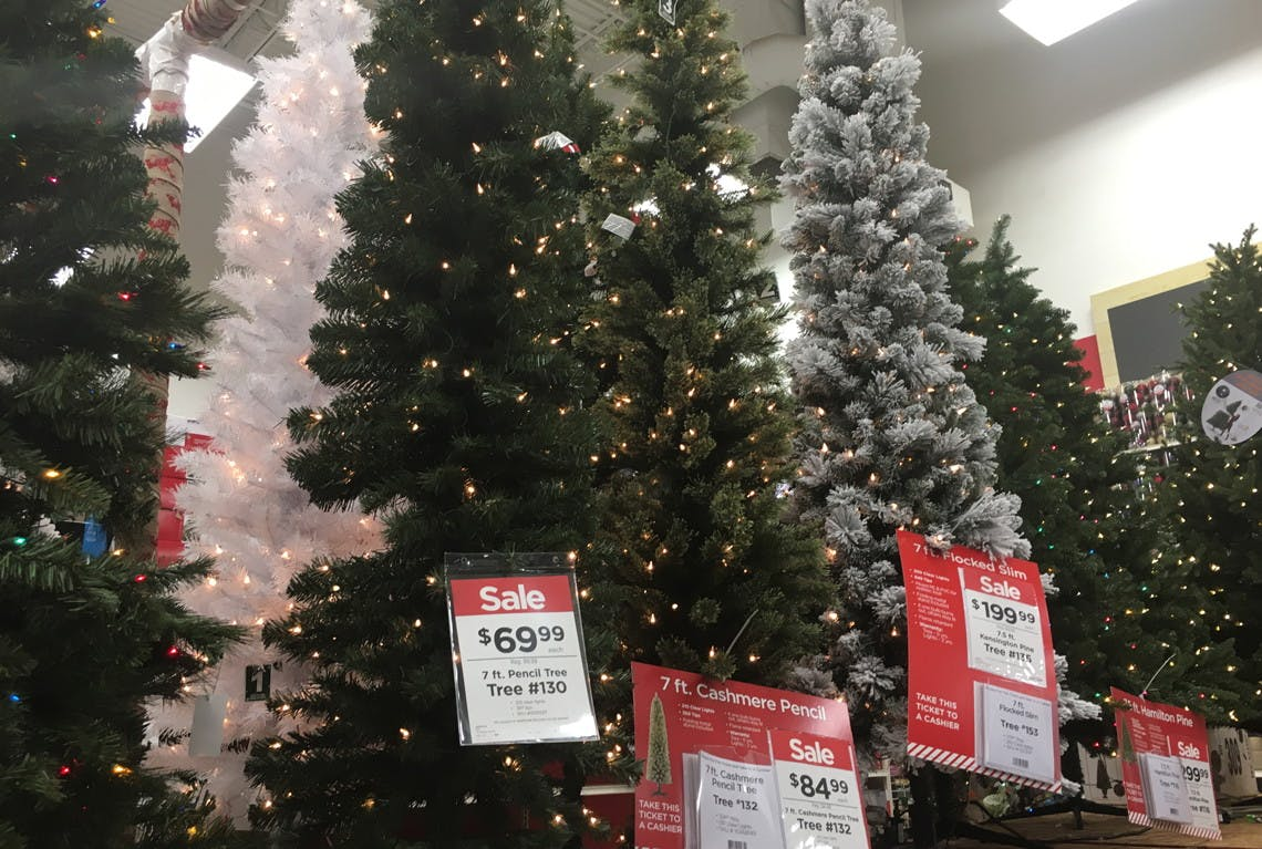Christmas Tree Event At Michaels Black Friday Pricing The Krazy Coupon Lady
