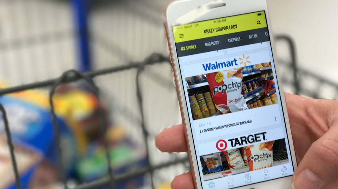 5 Freebies Using Just Your Phone At Walmart The Krazy Coupon Lady