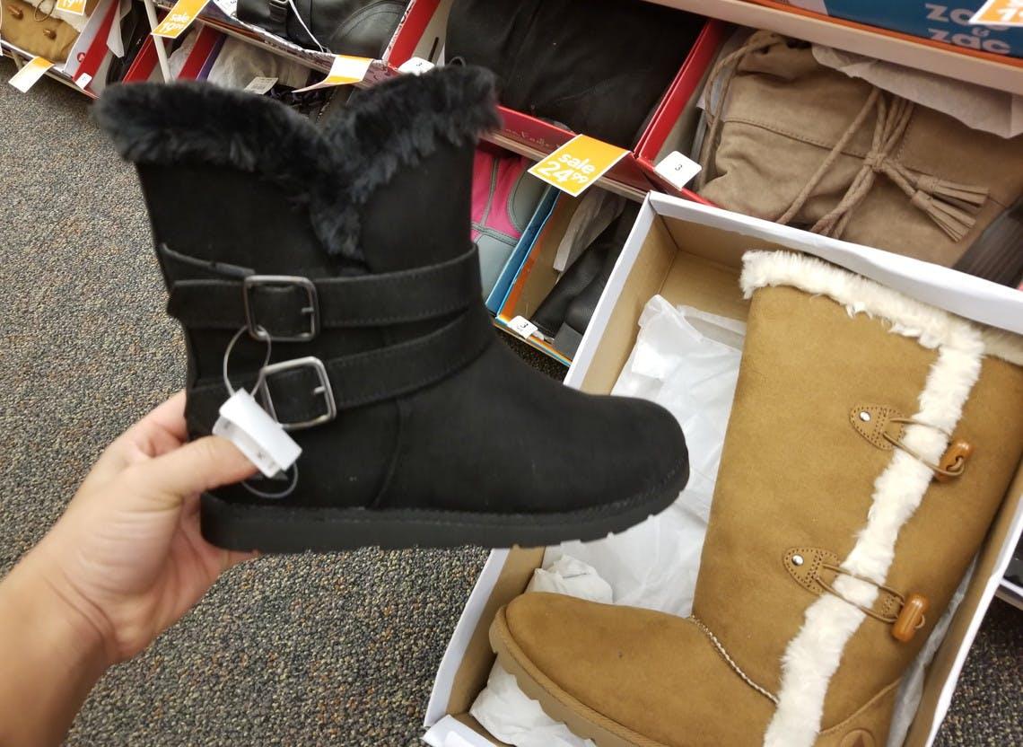 Airwalk Girls' Cozy Boots, Only $13.59