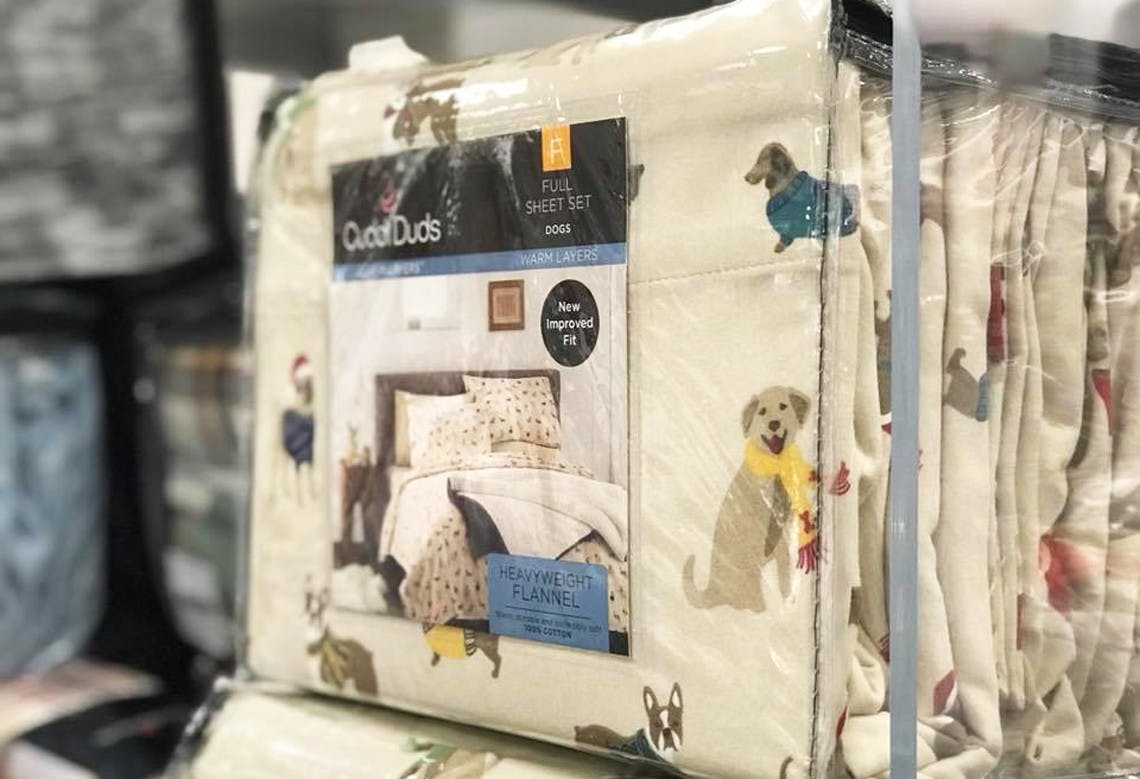 Cuddl Duds Flannel Fleece Sheet Sets As Low As 14 99 At Kohl S The Krazy Coupon Lady