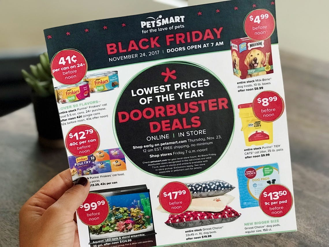 Top 10 Petsmart Black Friday Deals For 2017 The Krazy Coupon Lady