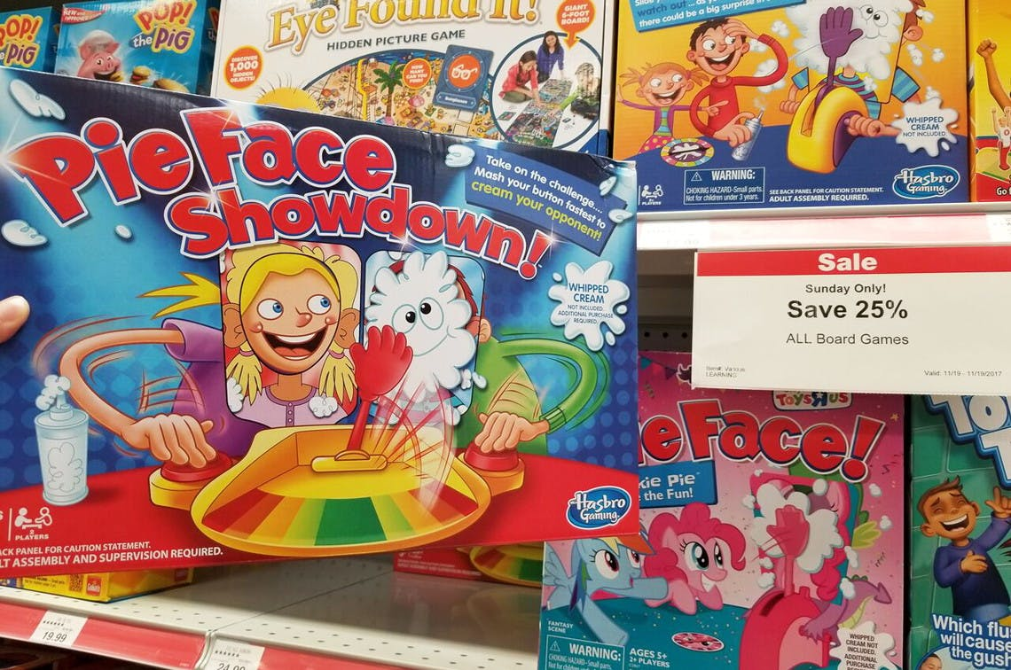 Pie Face Game Toys R Us Cheap Toys Kids Toys
