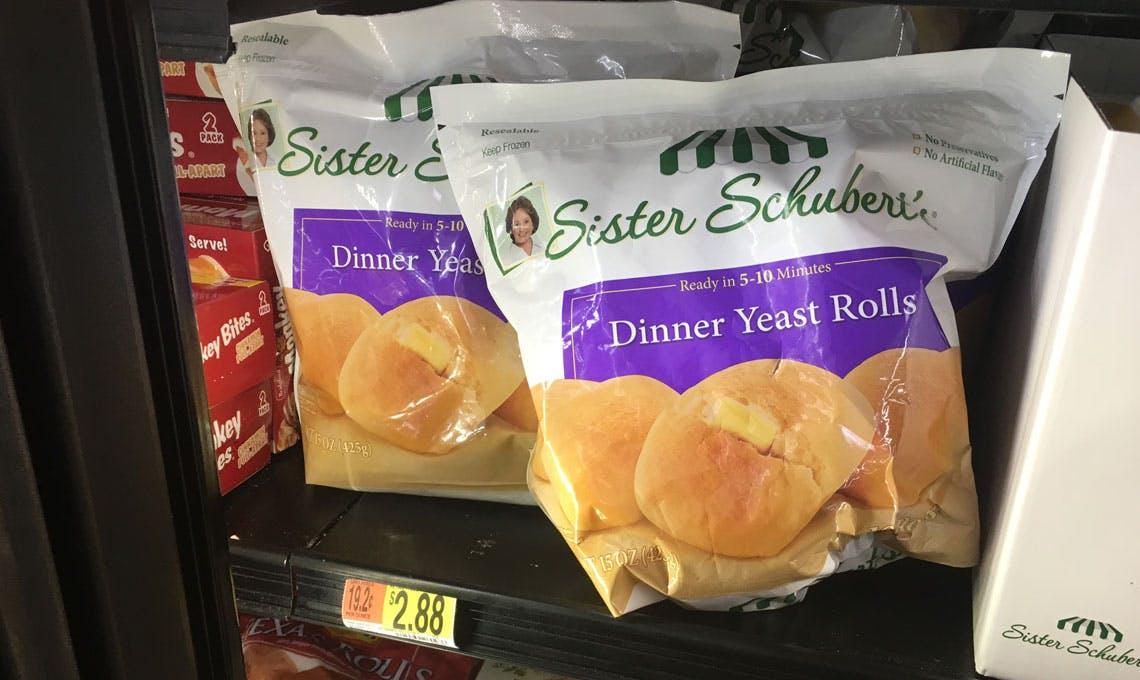 Sister Schubert S Dinner Rolls Only 0 88 At Walmart The Krazy