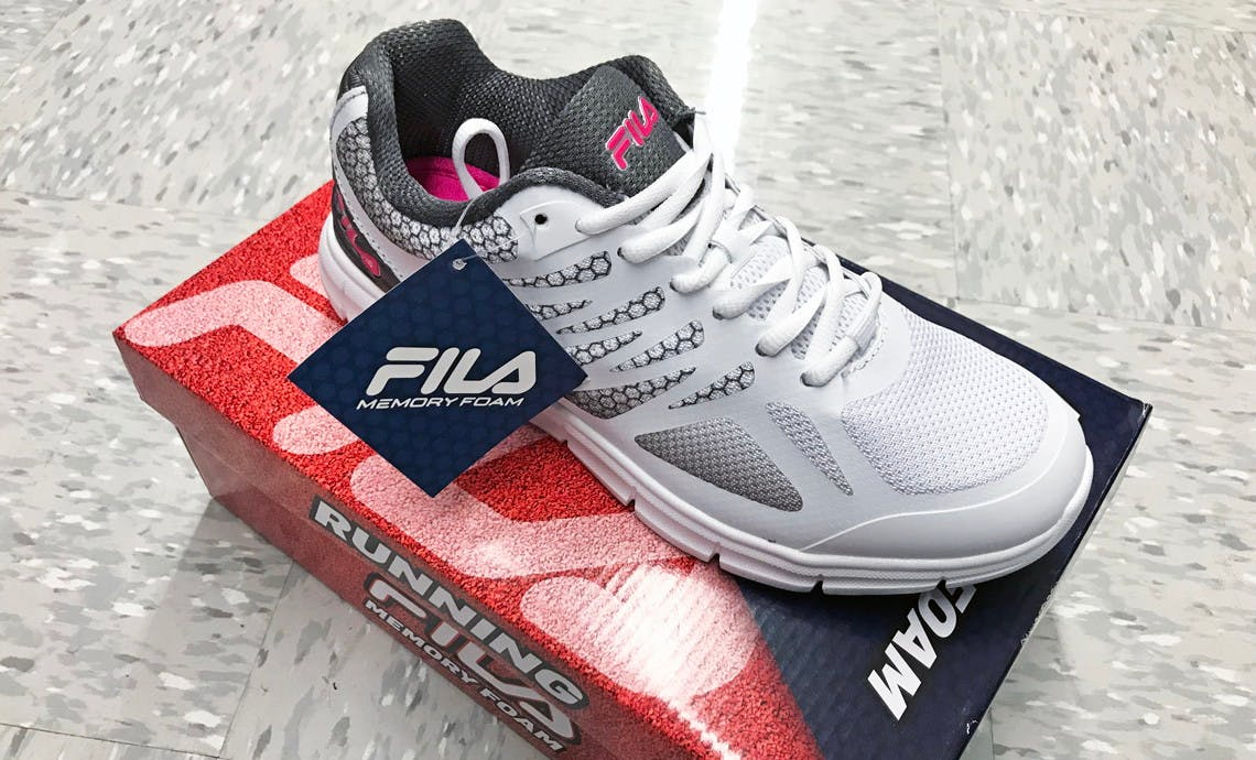 Women's Fila Shoes, as Low as $15 with