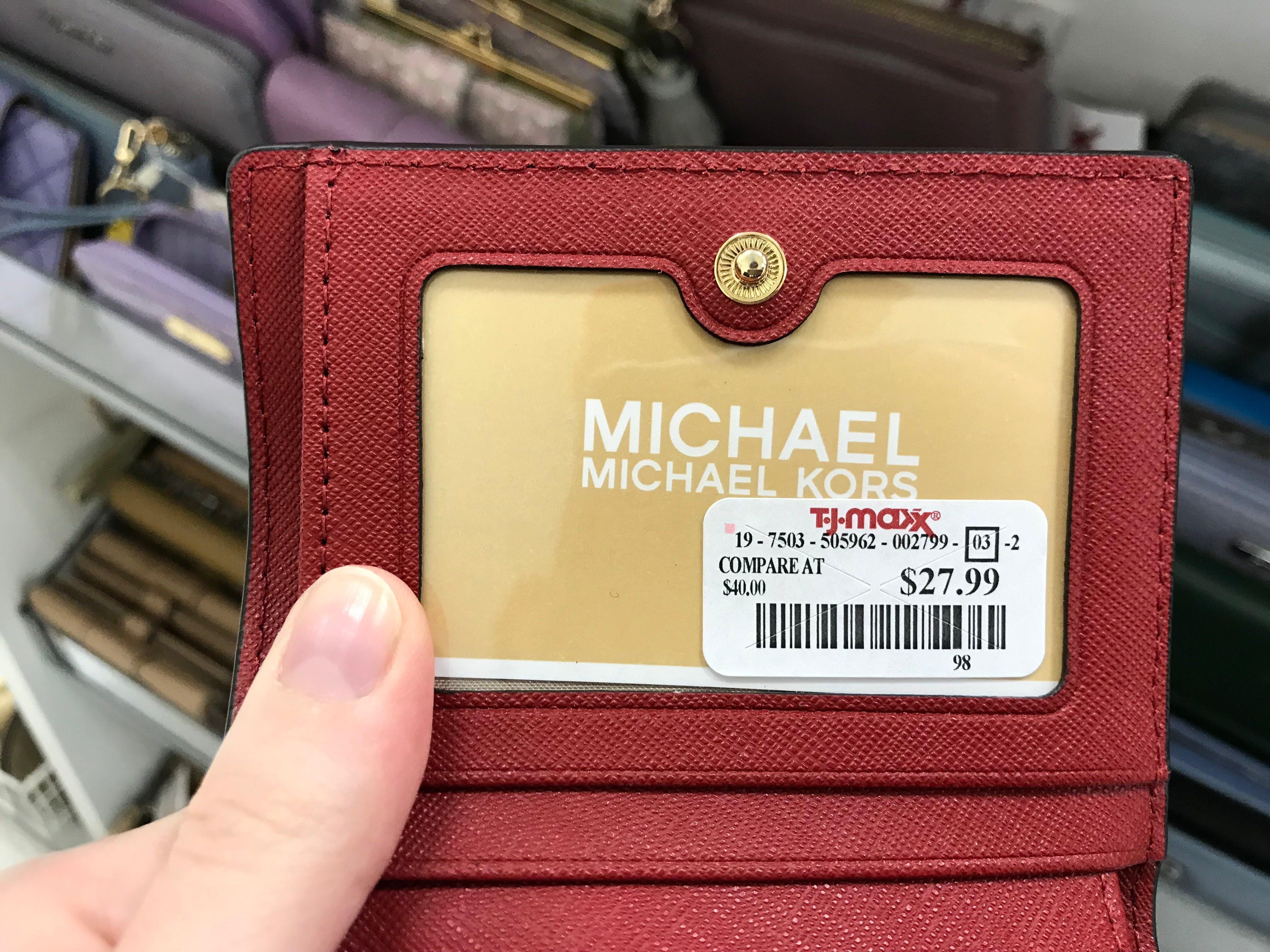michael kors wallet tj maxx
