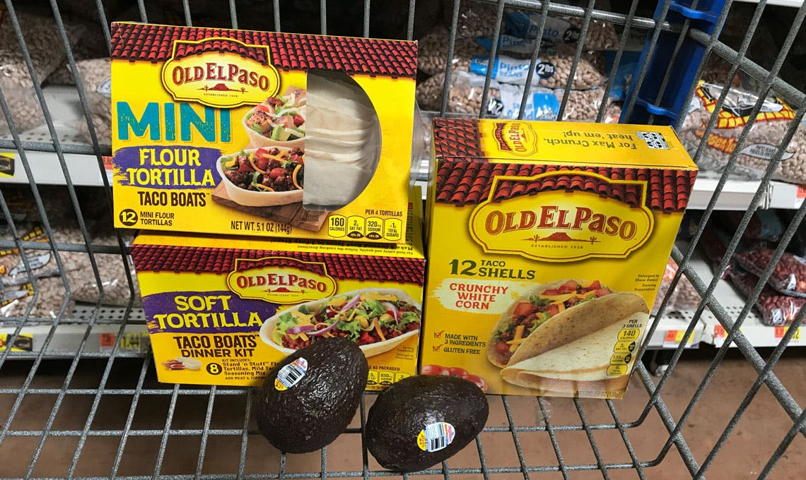 Old El Paso Taco Shells 2 Avocados As Low As 0 49 Each At Walmart The Krazy Coupon Lady