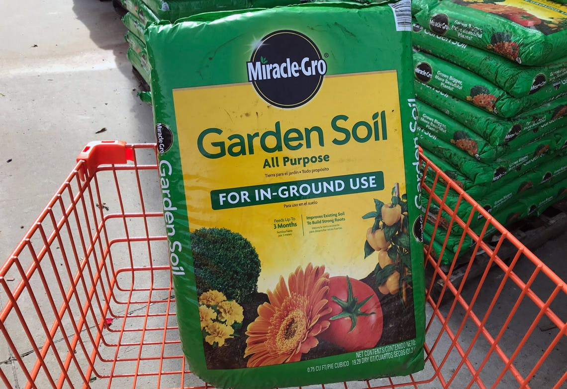 Miracle Gro Garden Soil 2 At Home Depot Lowe S The Krazy
