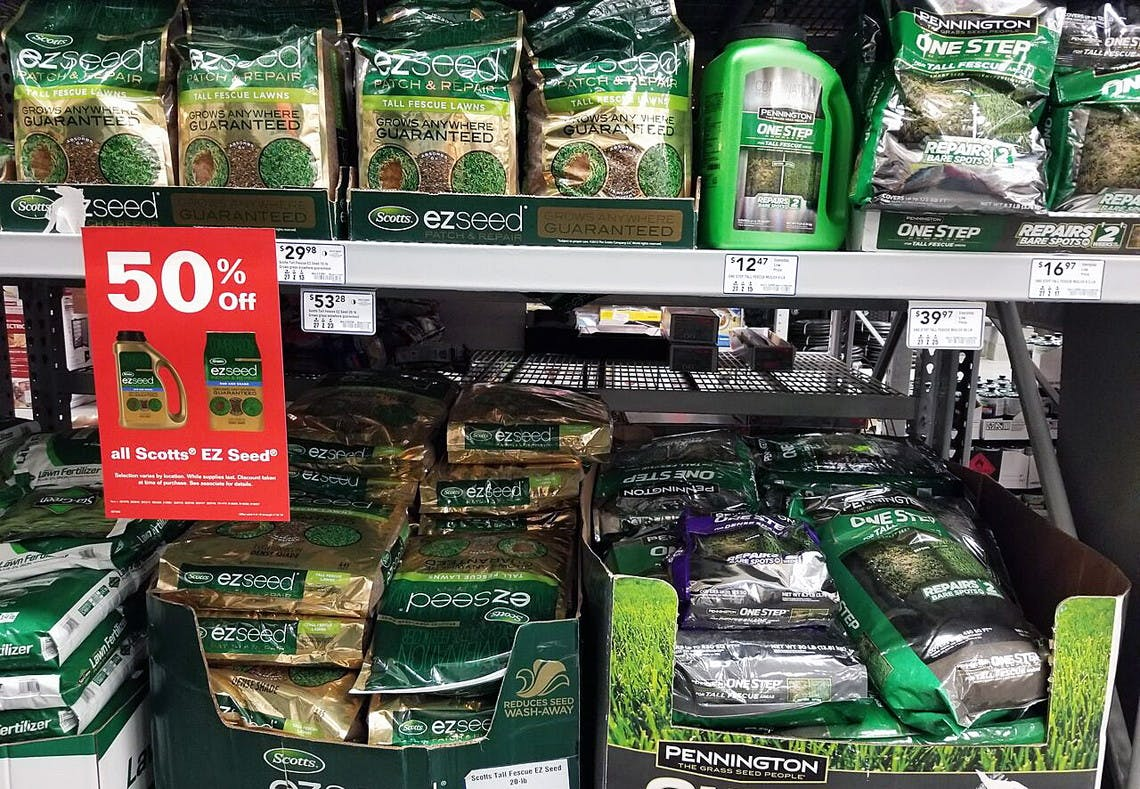 50 Off Scotts Ez Seed Lawn Repair Mixes On Lowes Com The Krazy Coupon Lady