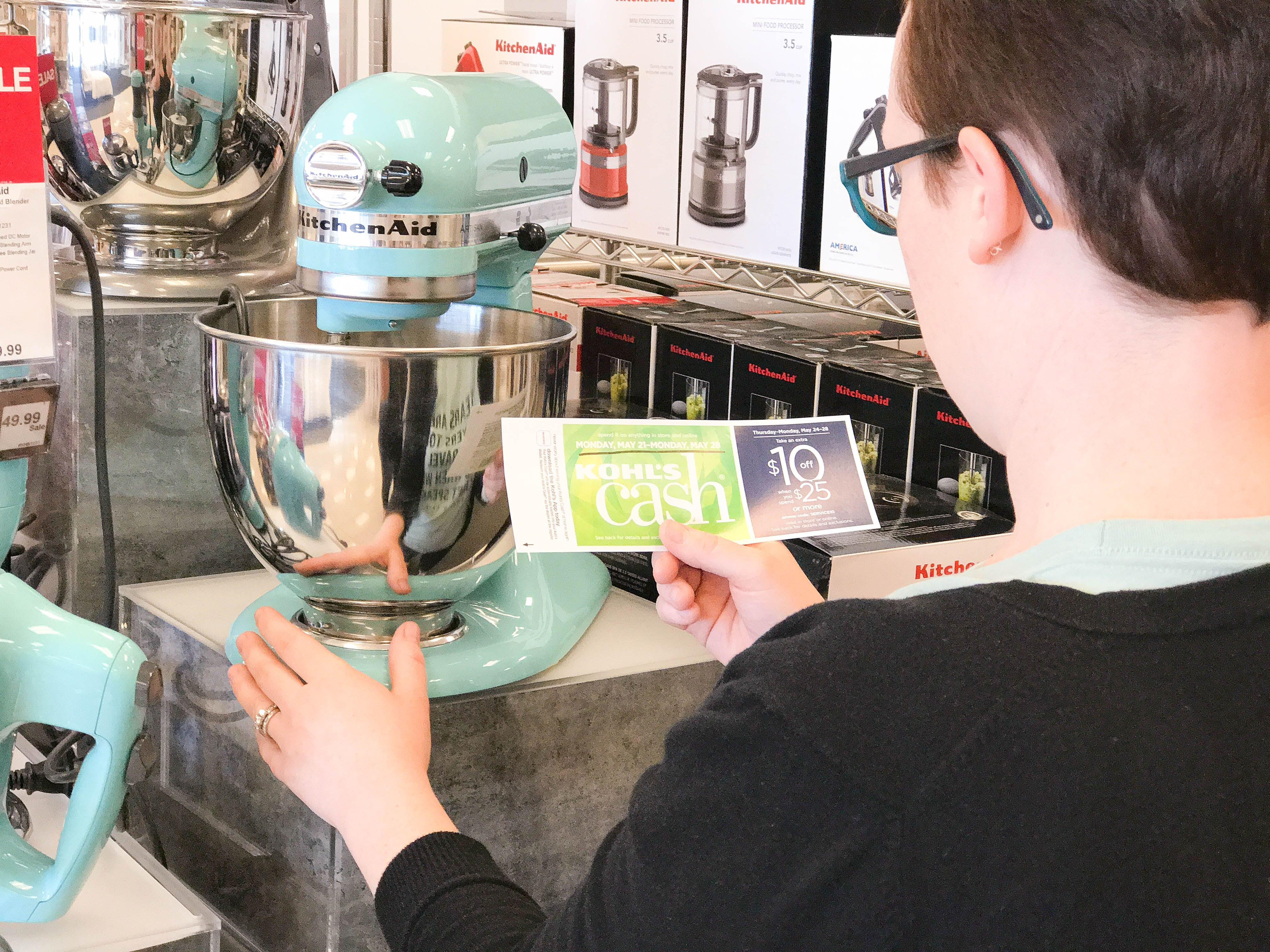 6 Foolproof Ways To Get A Kitchenaid Mixer For Half Price The Krazy Coupon Lady