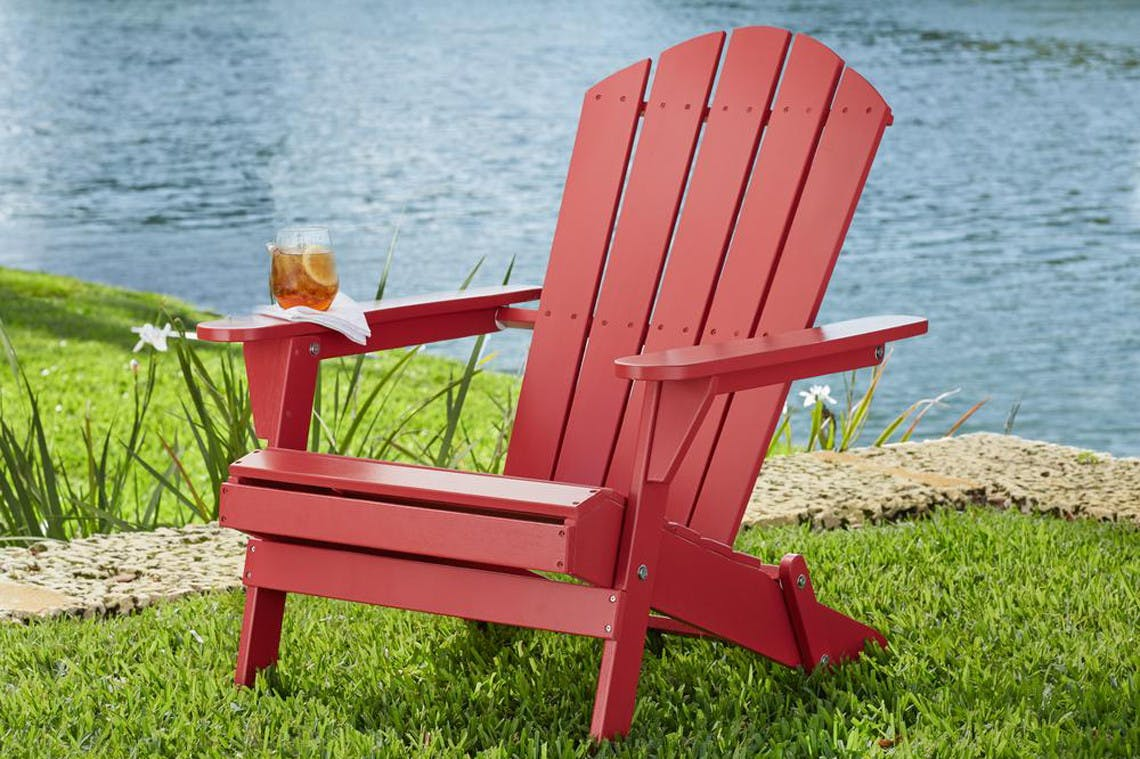 Hampton Bay Adirondack Chair 2 Pack Only 109 17 At The Home Depot The Krazy Coupon Lady