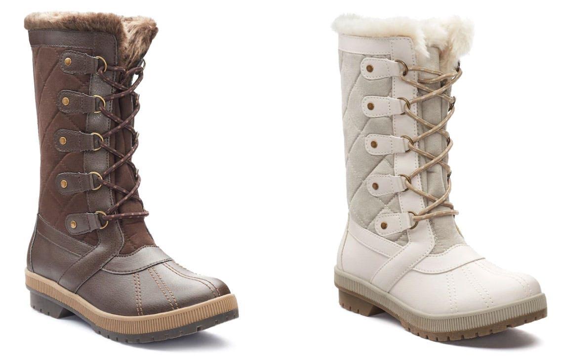 Winter Boots, Only $7.99 - Reg. $99.99