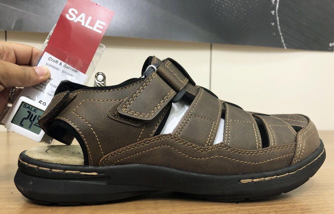 Croft \u0026 Barrow Sandals, Only $15.74