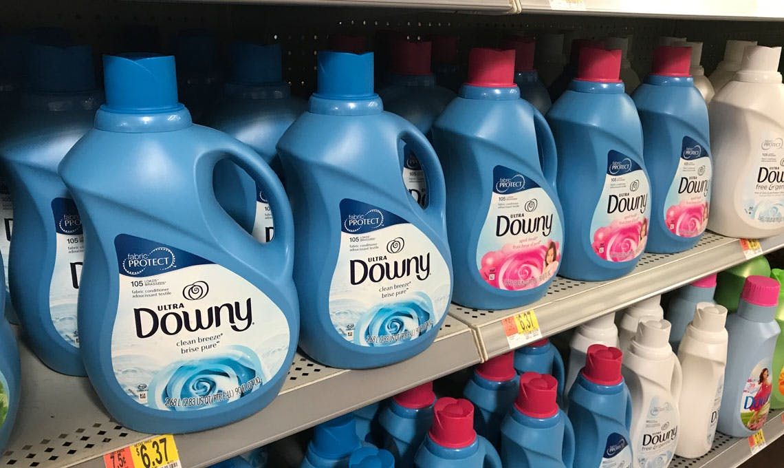 3 00 Coupon Large Downy Bounce As Low As 2 97 At Walmart The Krazy Coupon Lady