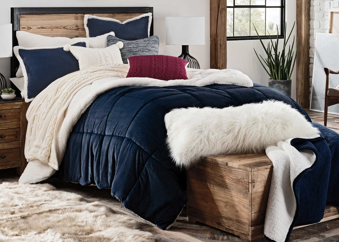 Ugg Reversible Comforter Sets As Low As 30 At Bed Bath Beyond The Krazy Coupon Lady