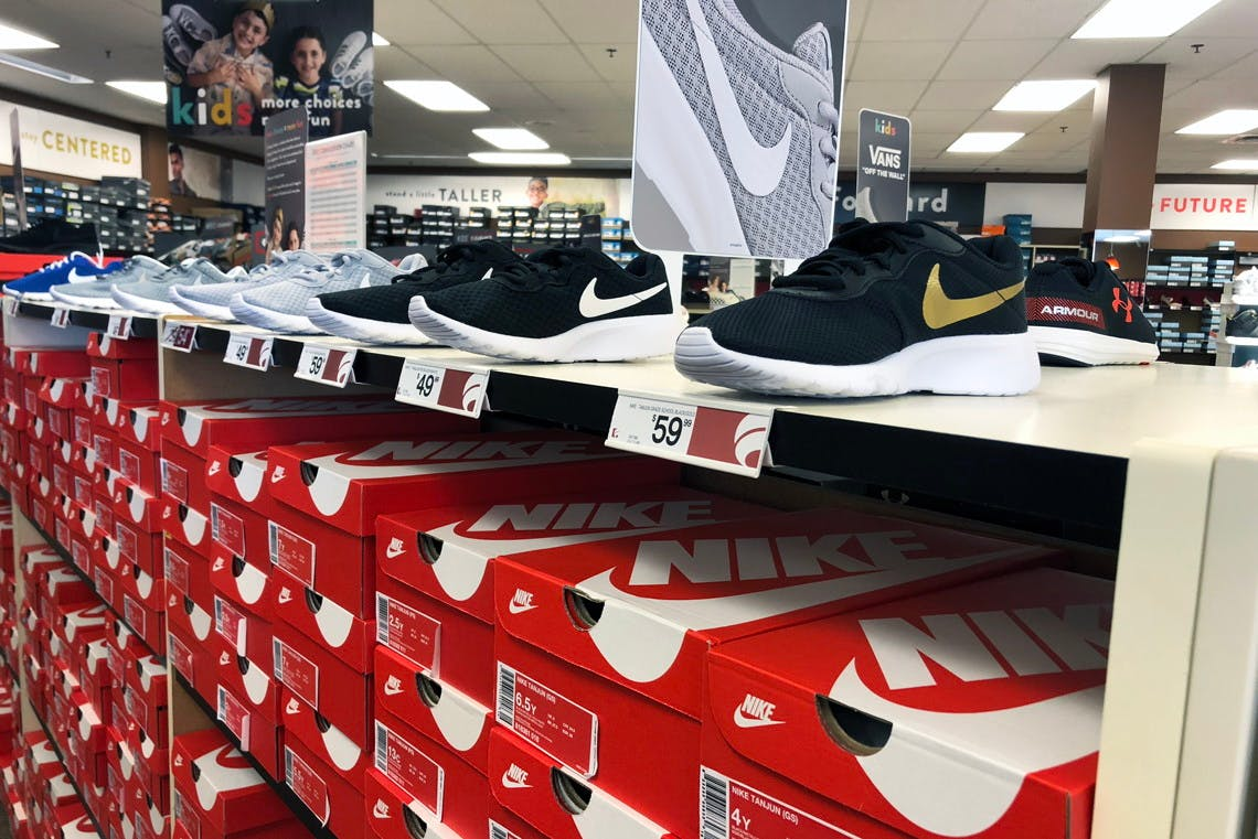 Nike Shoes + $10 Off at Famous Footwear