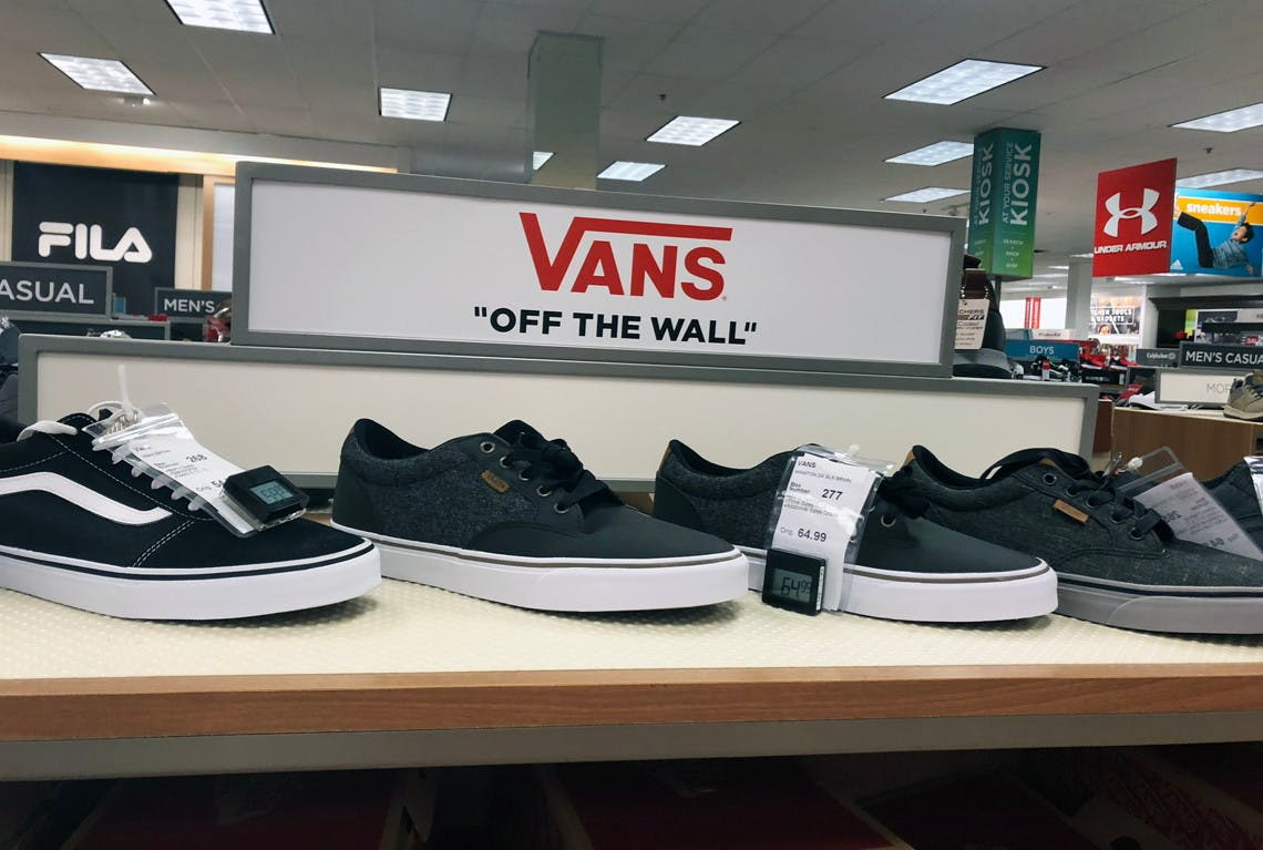 Vans Shoes, as Low as $15 at Kohl's