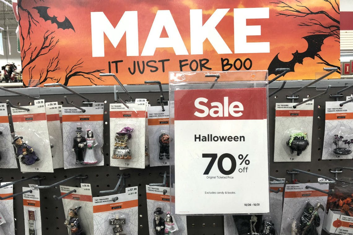 Michaeks 2020 Halloween Miniatures 70% Off Halloween Miniature Decor at Michaels!   The Krazy Coupon Lady