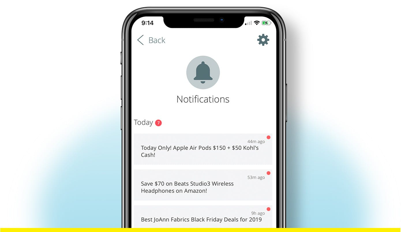 Customize Your Deal Alerts In The Free Kcl App The Krazy Coupon Lady