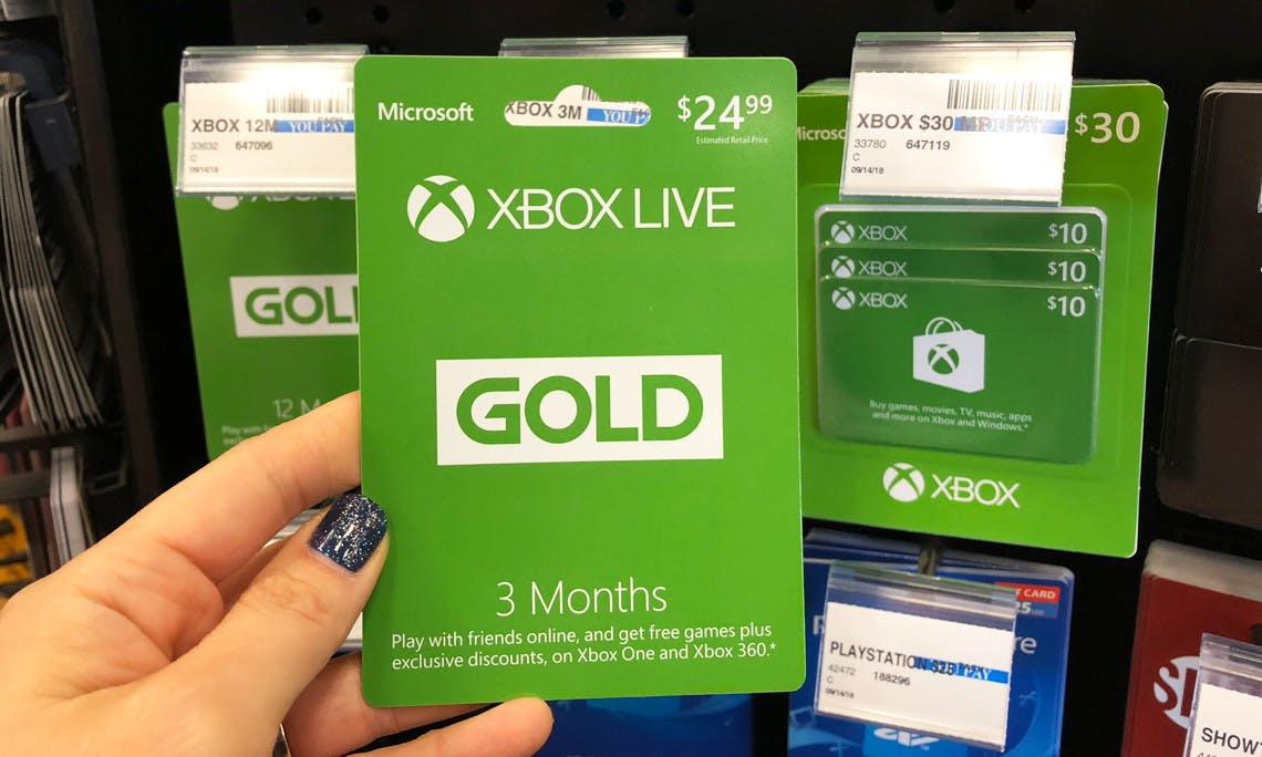 Xbox Live 3 Month Subscription For 9 99 At Cvs Save 15 00 The Krazy Coupon Lady