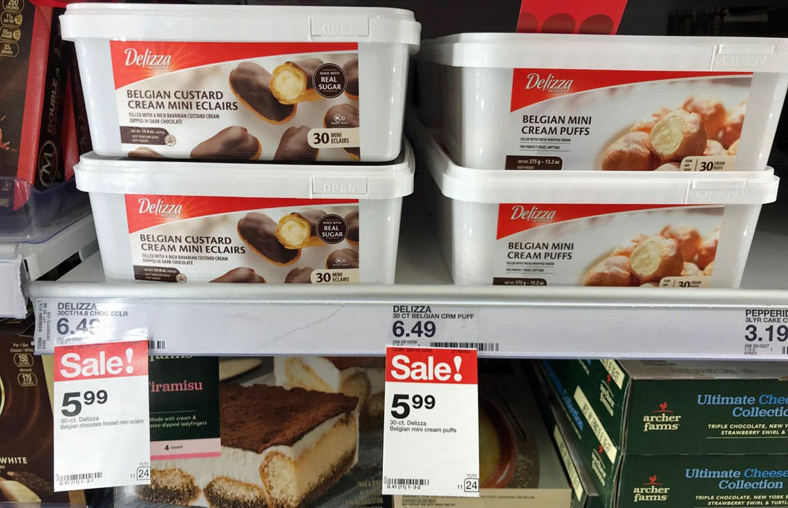 New Coupon Delizza Desserts Only 4 49 At Target The Krazy Coupon Lady