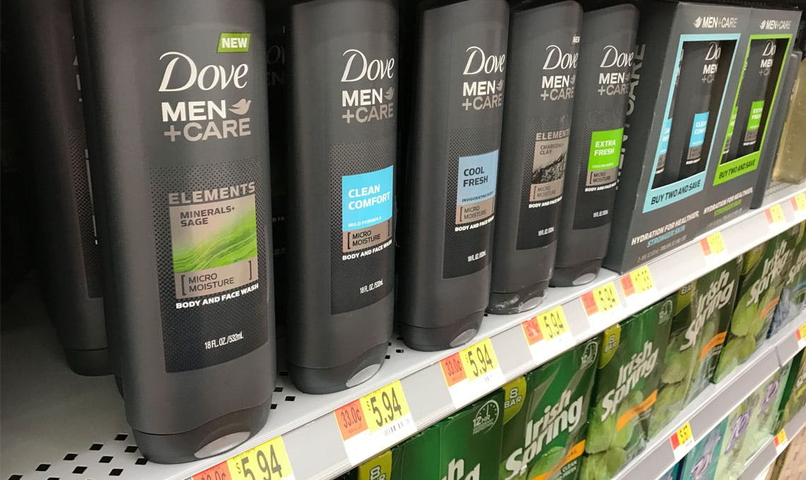 Dove Men Care Body Face Wash Only 2 94 At Walmart The Krazy Coupon Lady
