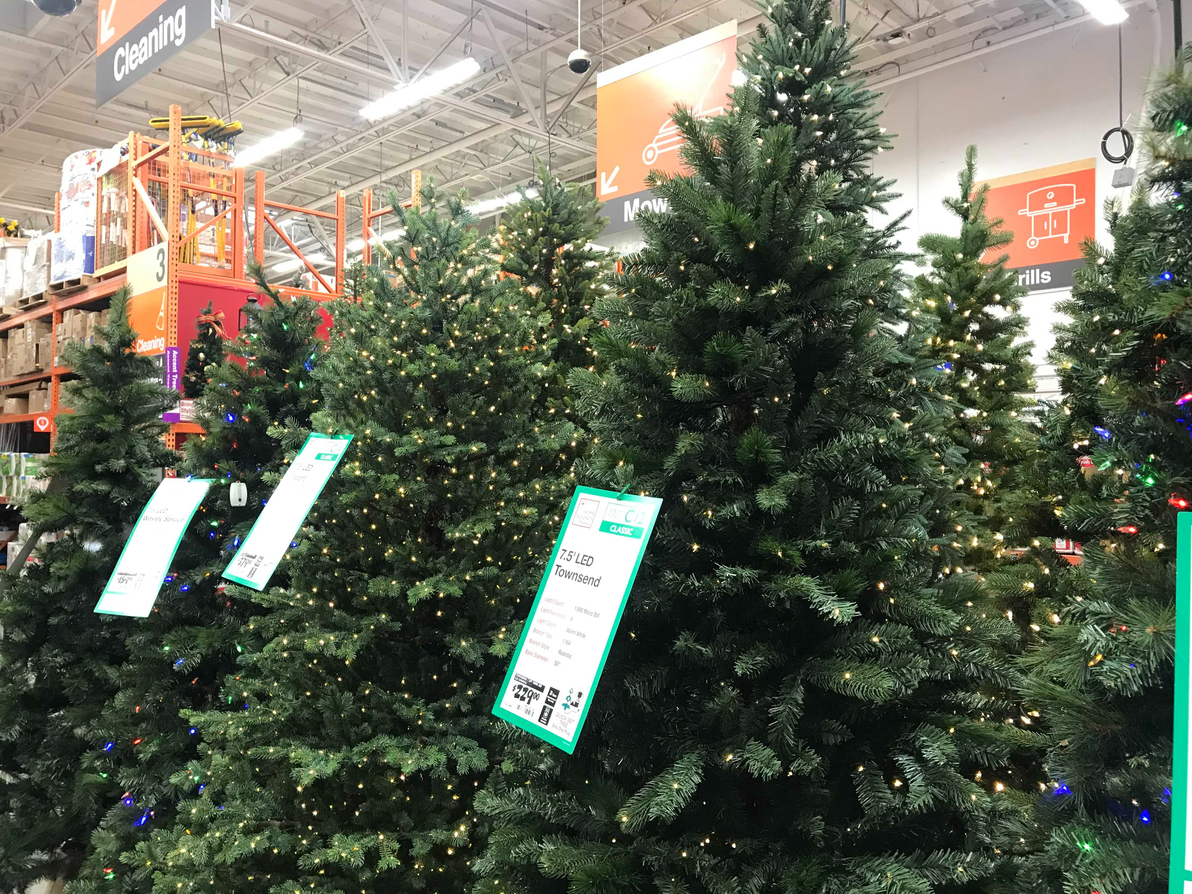 100 000 Home Depot Christmas Trees Are Being Recalled The Krazy Coupon Lady
