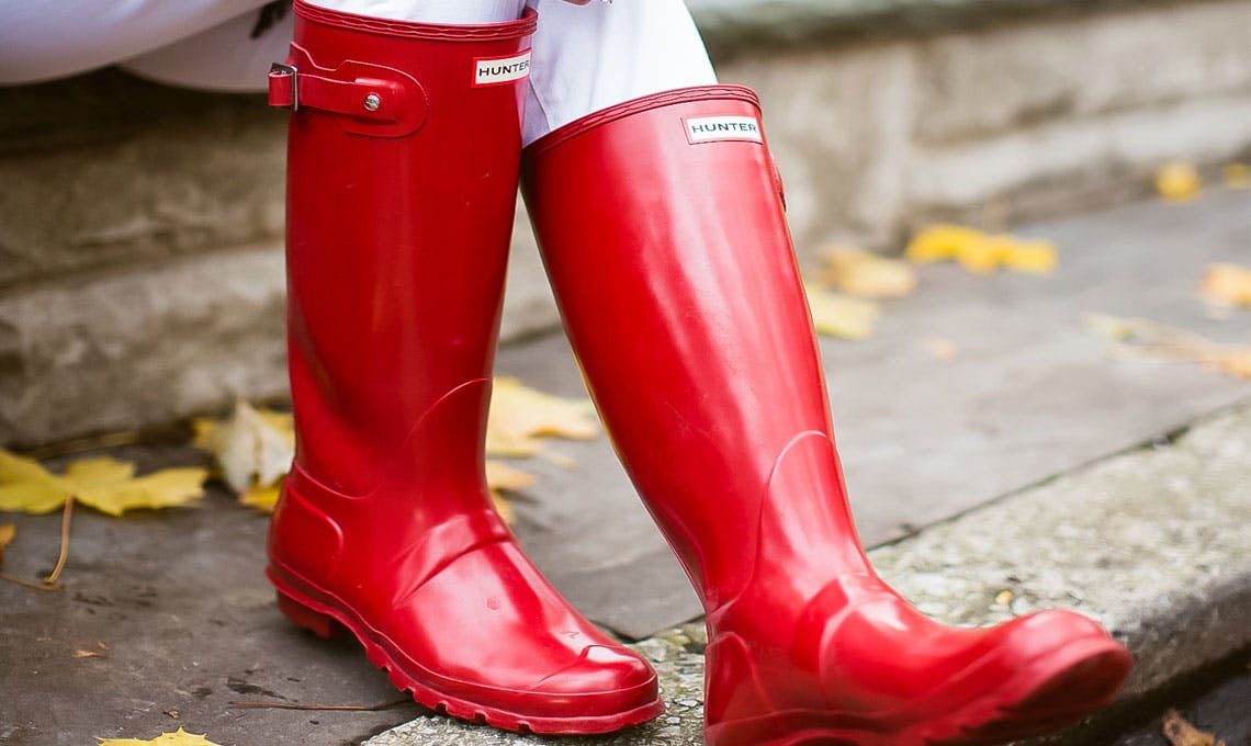 Online Only! Hunter Ladies' Rain Boots
