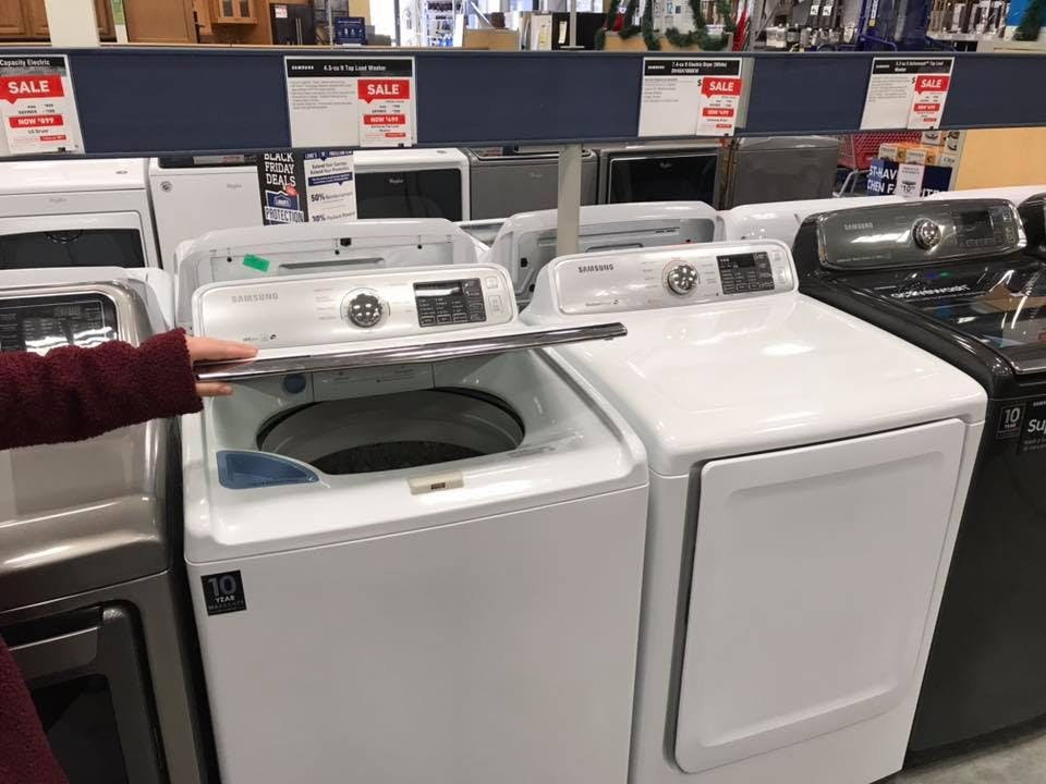 Samsung Washer Or Dryer Only 499 Shipped At Lowe S The Krazy Coupon Lady