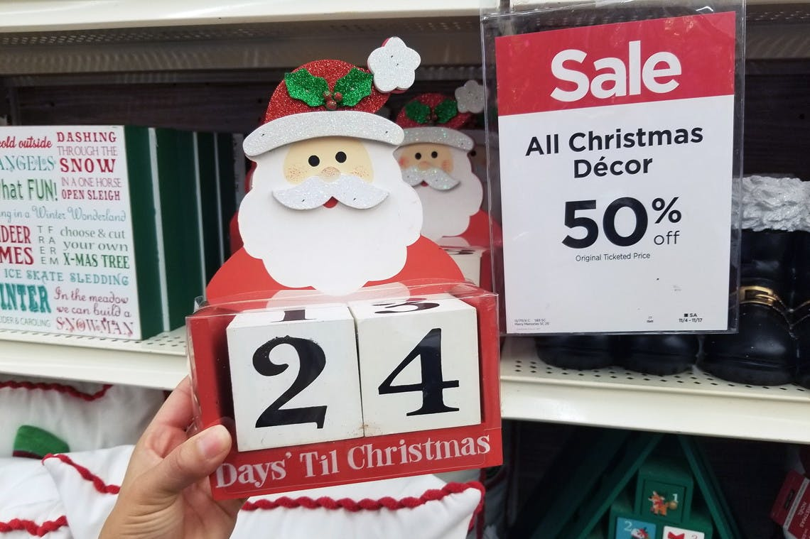 Save 50 On Christmas Decor At Michaels The Krazy Coupon Lady