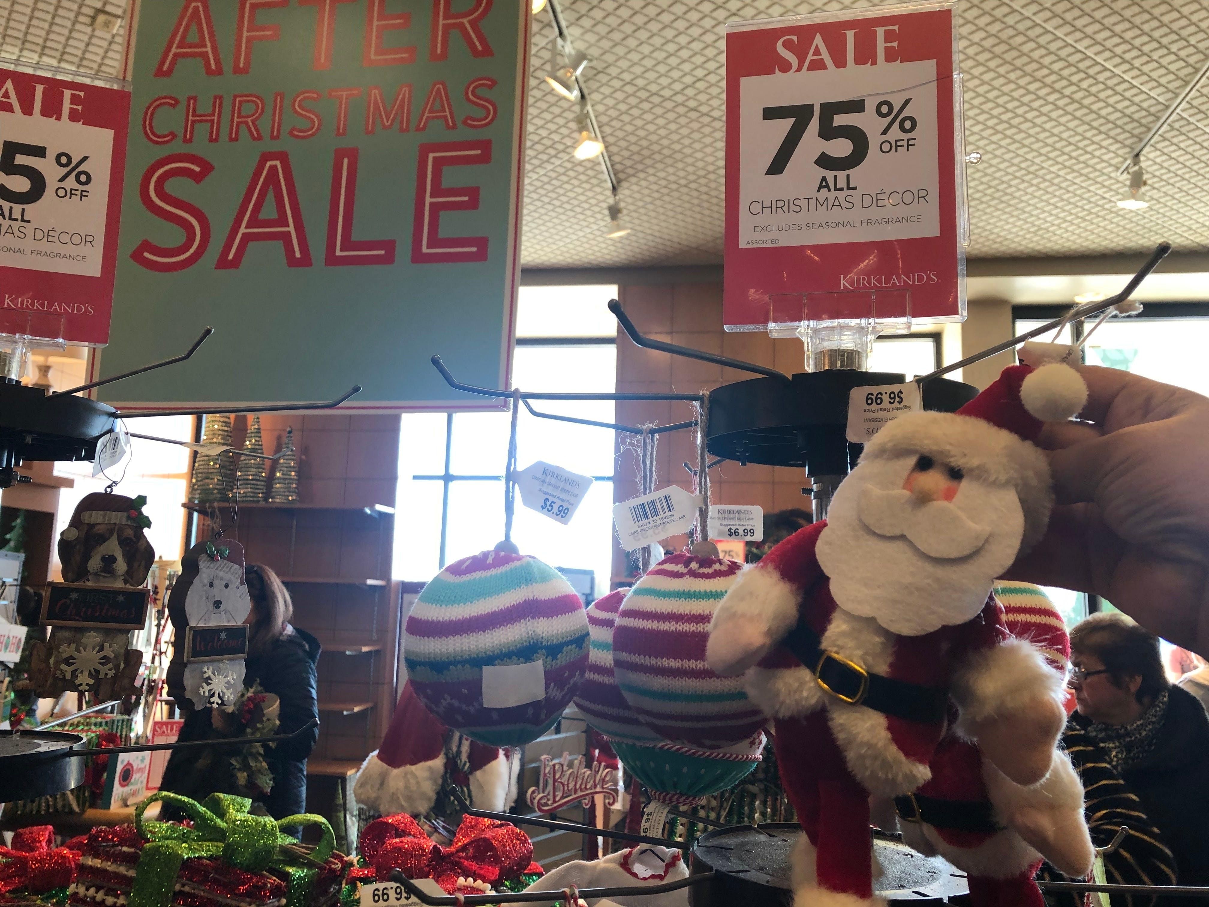 75 Off All Christmas Decor At Kirkland S The Krazy Coupon Lady