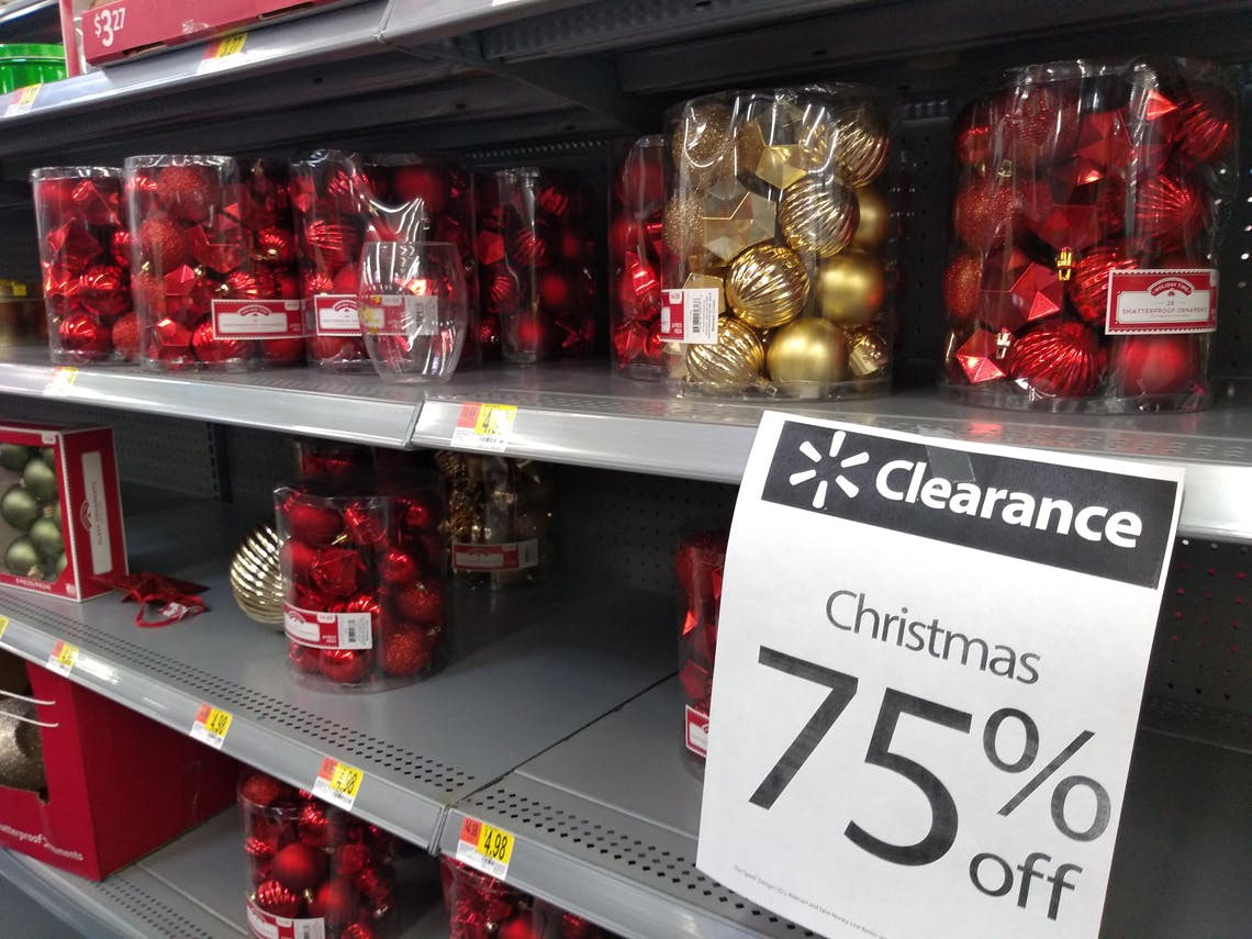 Christmas Decor 75 Off At Walmart The Krazy Coupon Lady