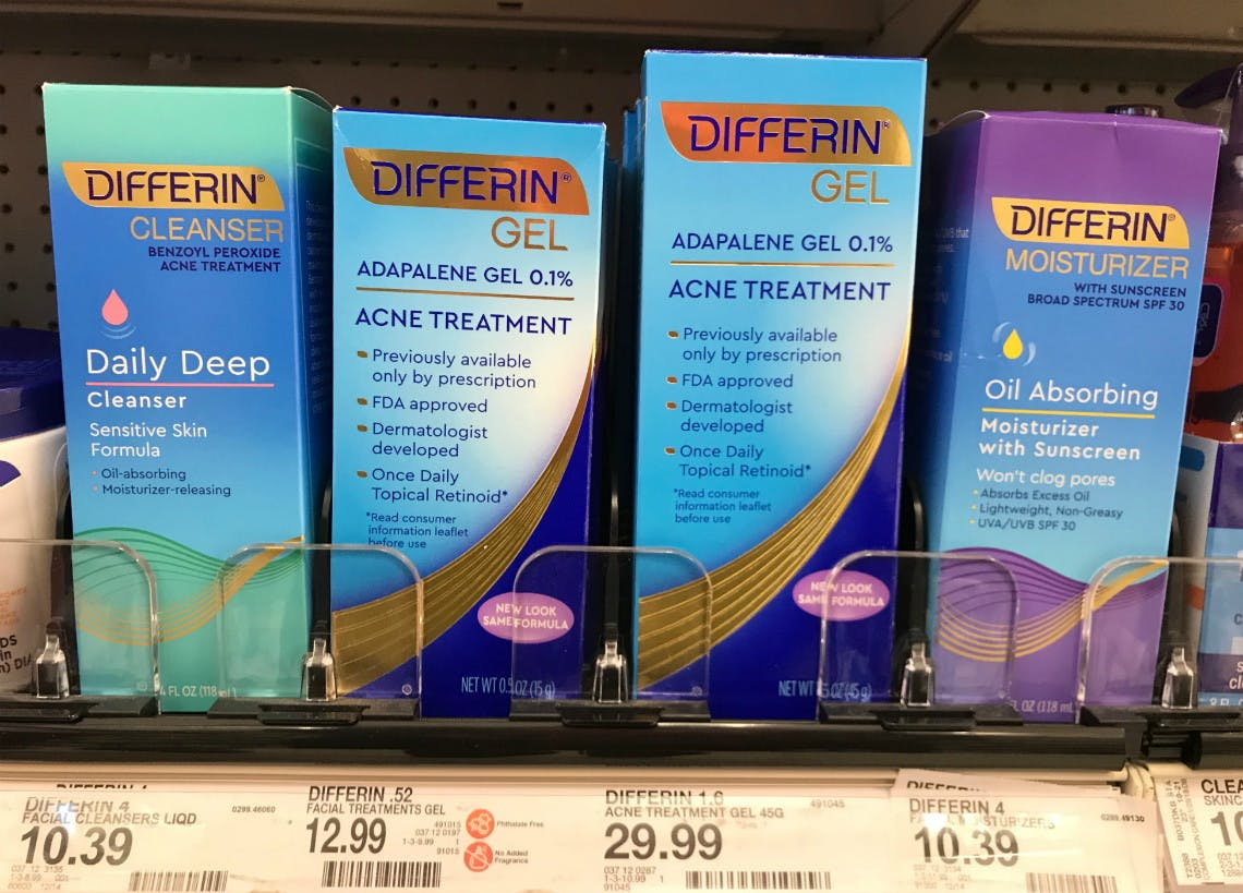 Differin Gel Acne Treatment Only 1 24 At Target The Krazy